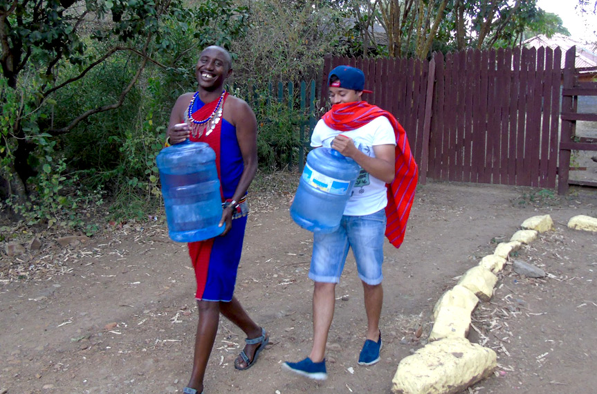Safe water for Masai tribe