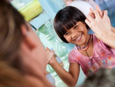 Alila local experience at Orphanage Kungklung, Bali