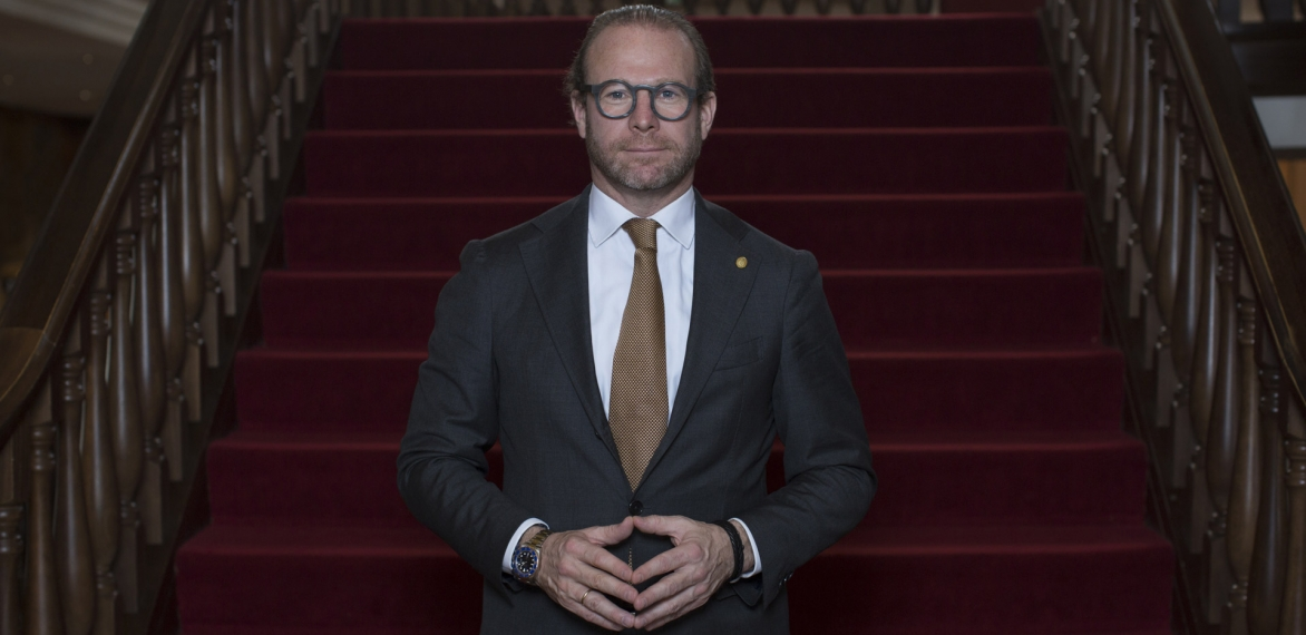 Grand Hotel Huis ter DuinNOW interviews Stephan Stokkermans – Managing Director