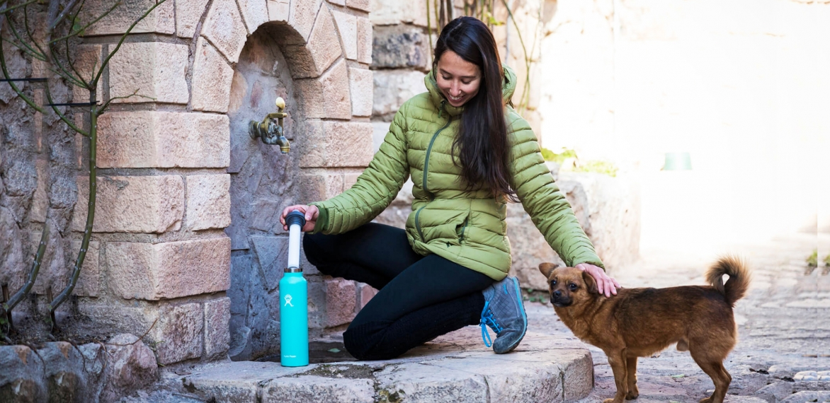Traveller's Tool: Lifestraw water bottles