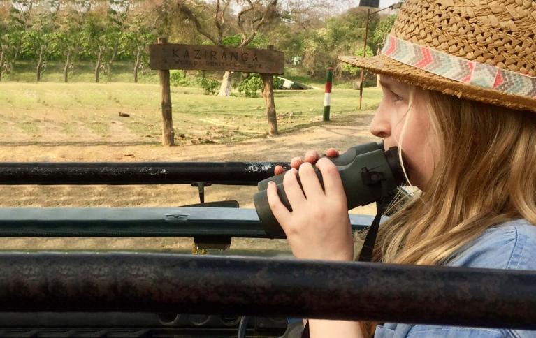 Sofia's India Rhino trip
