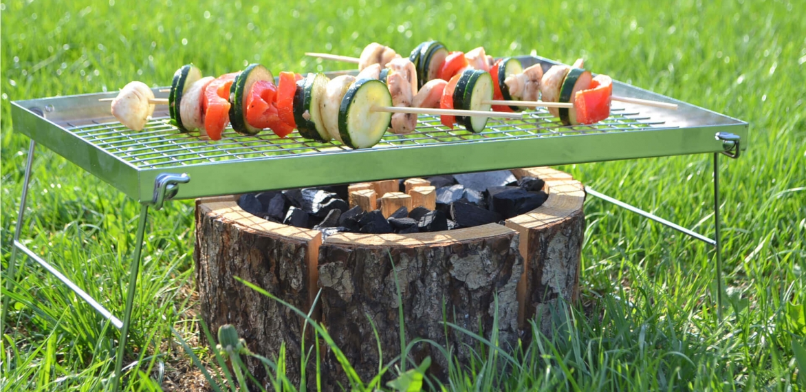 Travellers Tool: Eco Grill