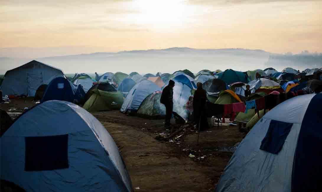 Climate refugee crisis