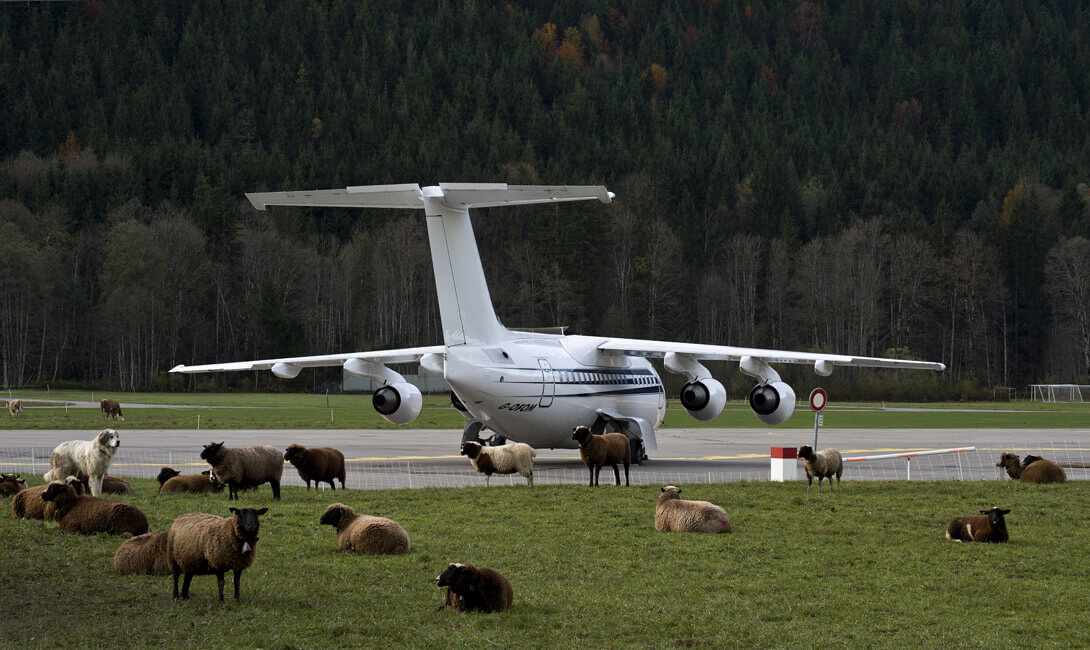 Gstaad Airplane