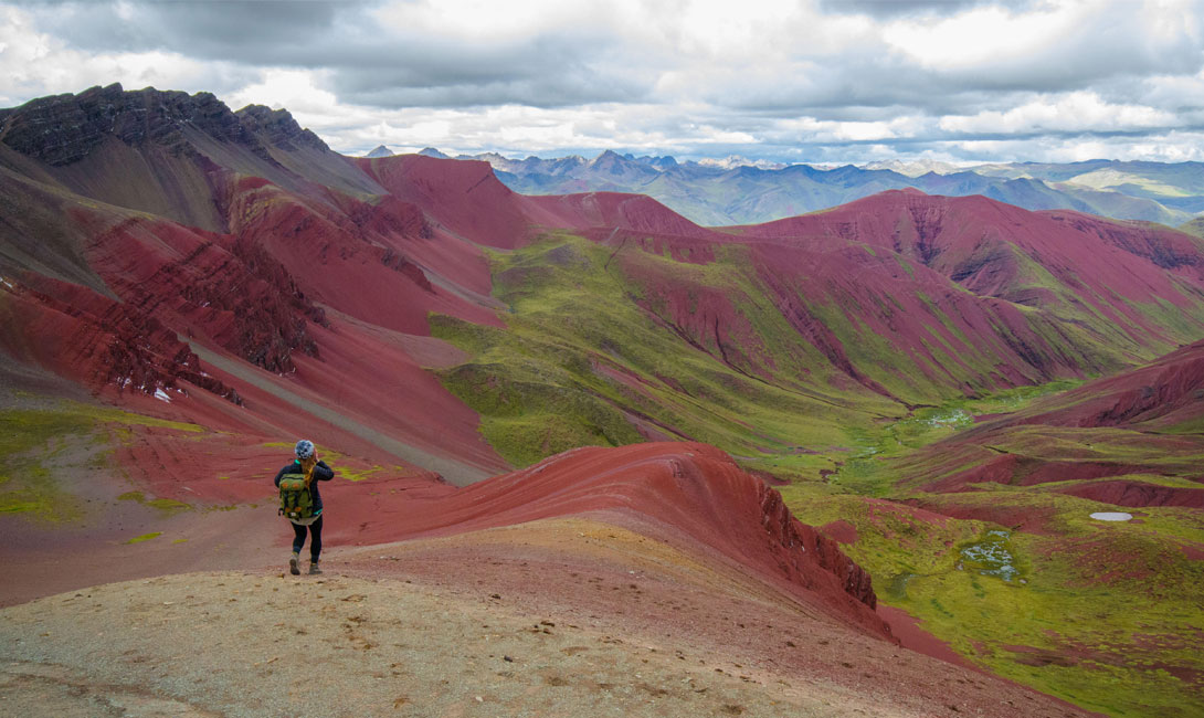 Vinicunca mountain peru