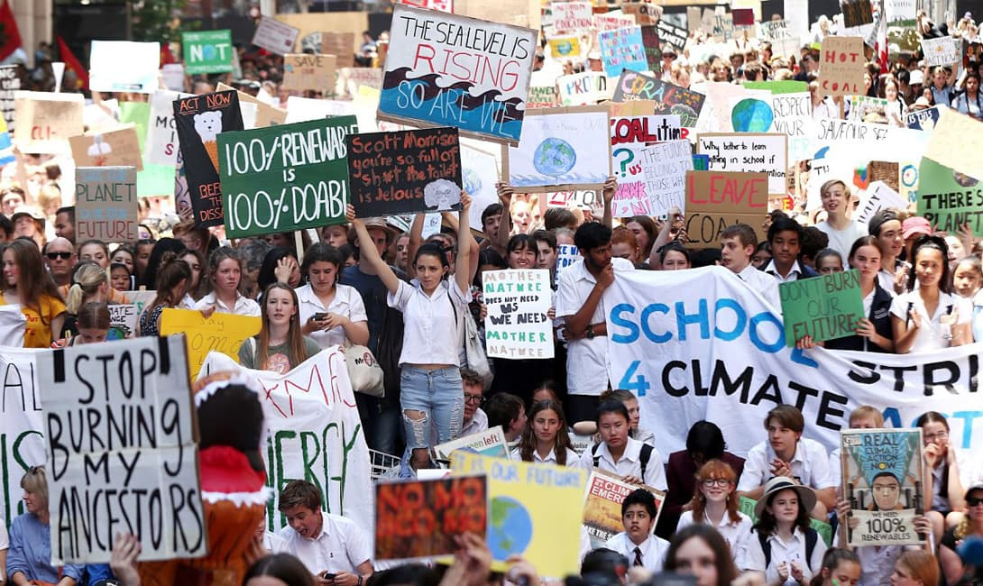 Australia School Strike for Climate2